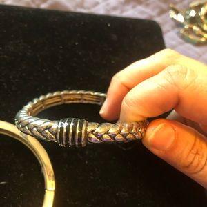 Lia Sophia Jewelry - Lia Sophia silver bangles